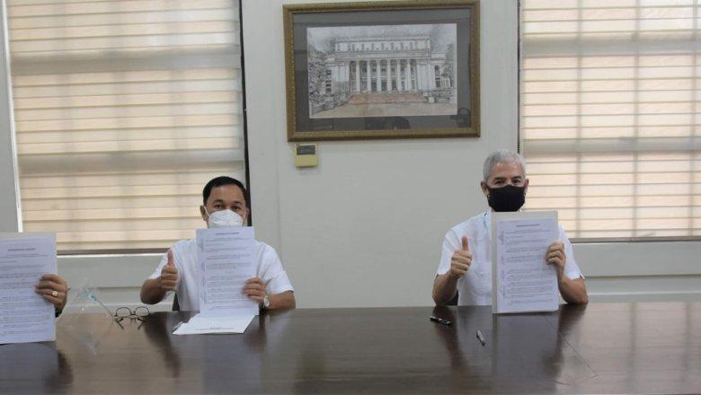 Lacson, PCIC sign MOA for crop insurance program