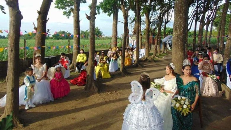Virtual Santacruzan held, Ilog beauties do charity work