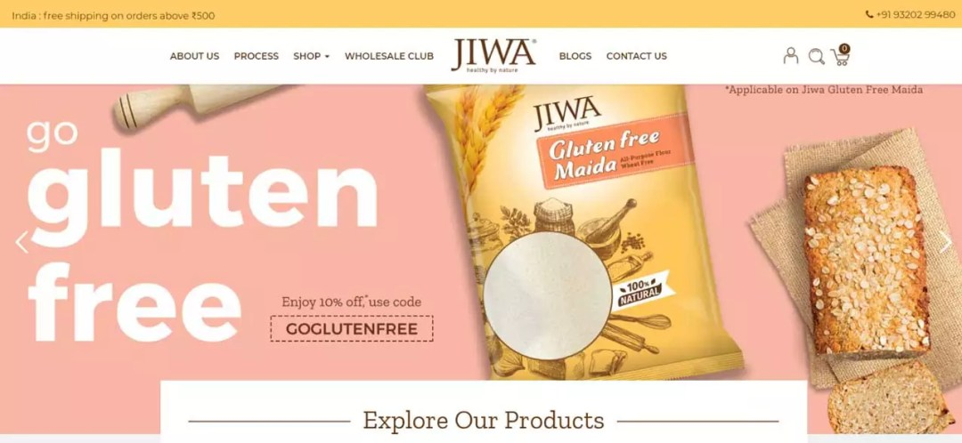 Building a Custom Designed Ecommerce Website for An Organic & Superfoods Brand | JIWA Foods