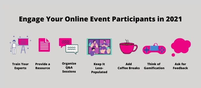 How to Engage Participants for Your Online Event in 2021