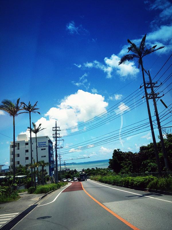 Blue Sky & Sea!