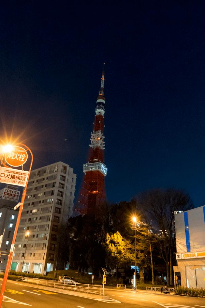 東京タワーにはKIZUNA TOKYO
