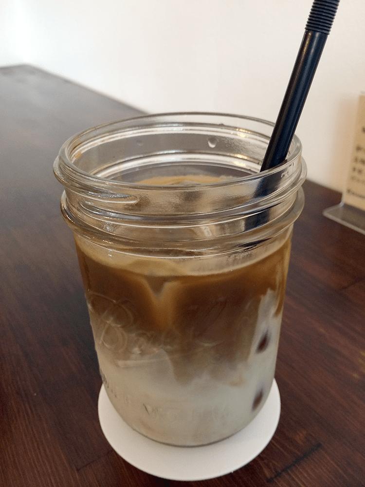 カフェラテ(アイス)450円