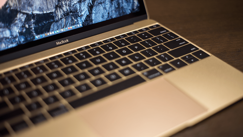"MacBook Retina 12"" Early 2015 Gold"
