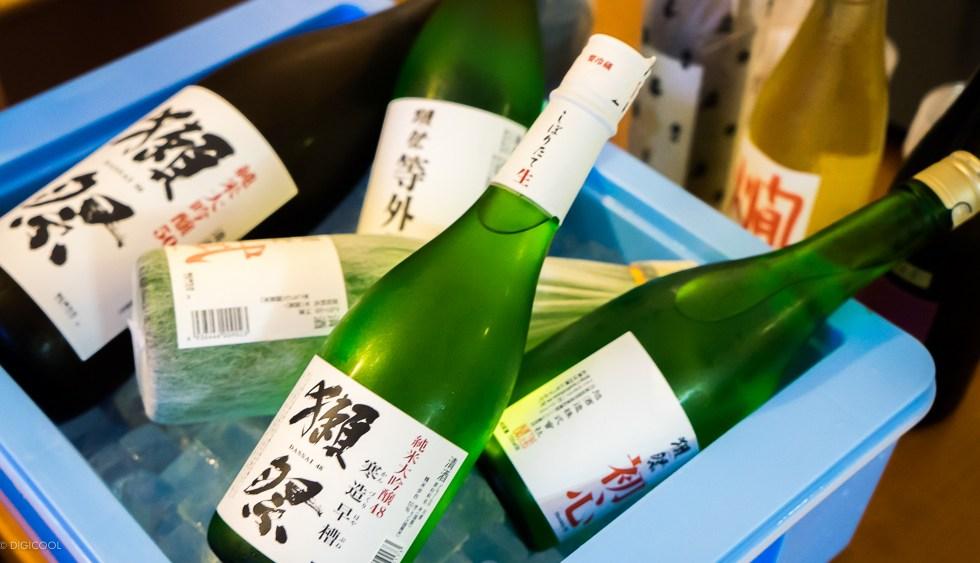 獺祭5種飲み比べ!