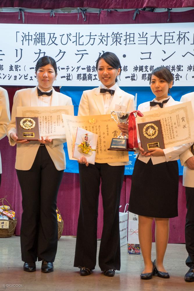 優勝者の西村 玲奈さん