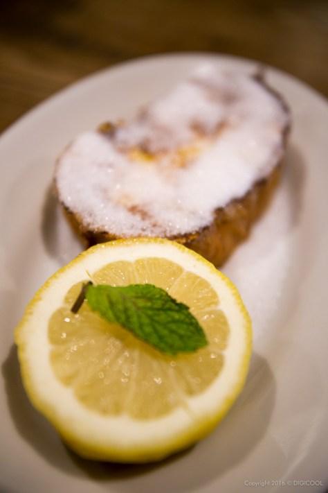 レモンシュガーフレンチトースト