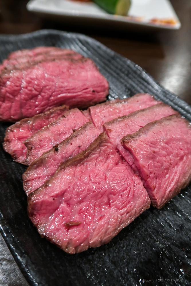 熊本県産赤牛のランプ