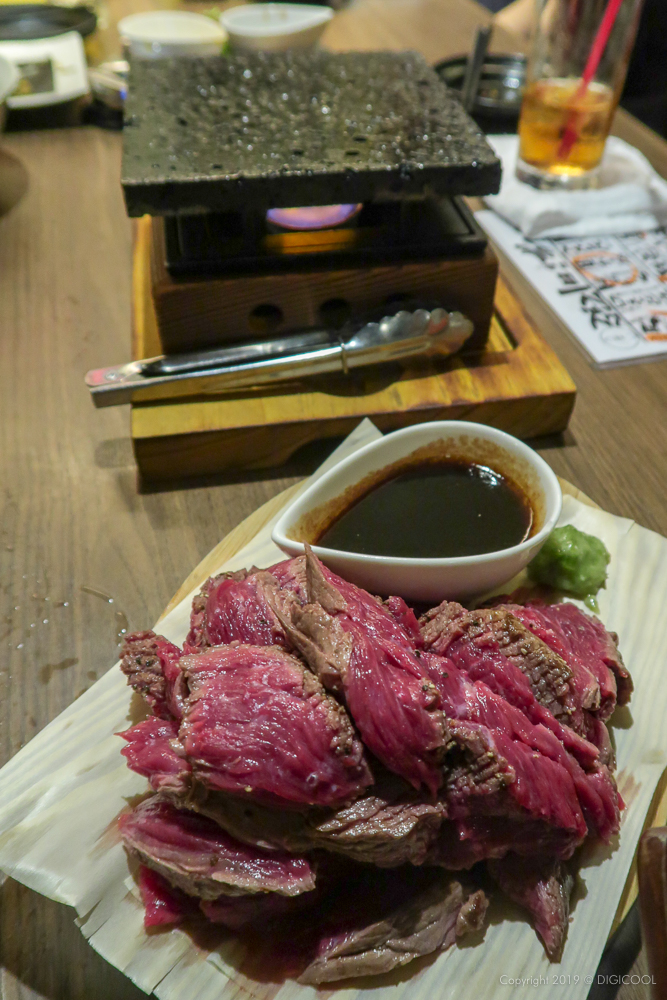 500gのステーキ