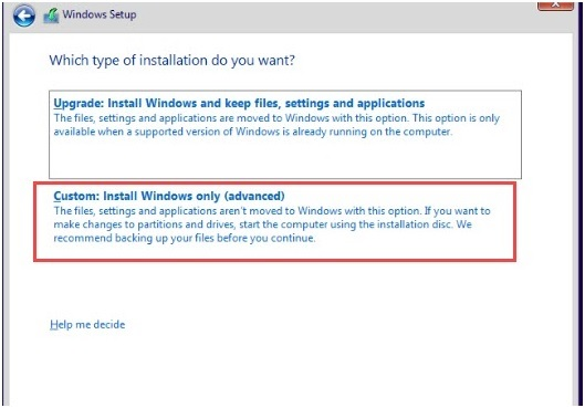 Custom_install_windows_only_option