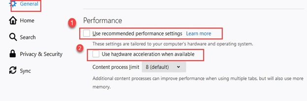 Firefox_Use_recommended_performance_settings