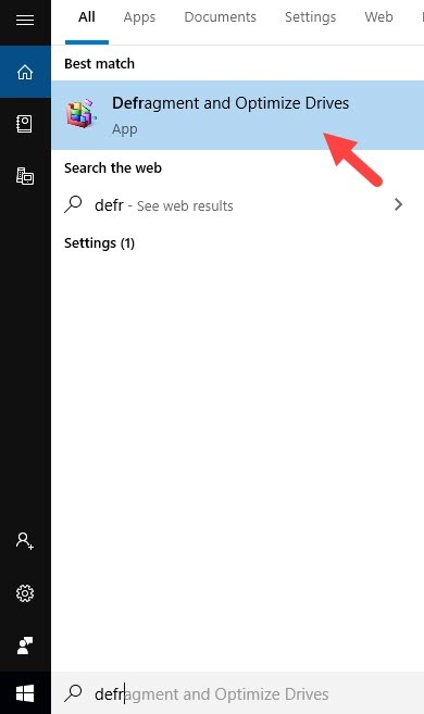 Defragment_And_optimize_drives_windows_search
