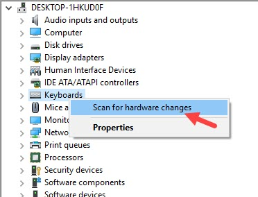 Scan_for_hardware_changes_of_keyboard_driver