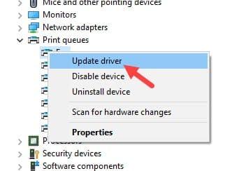 Update_printer_driver