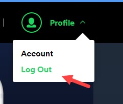 log_out_from_Spotify
