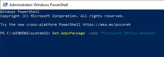 remove_office_using_powershell
