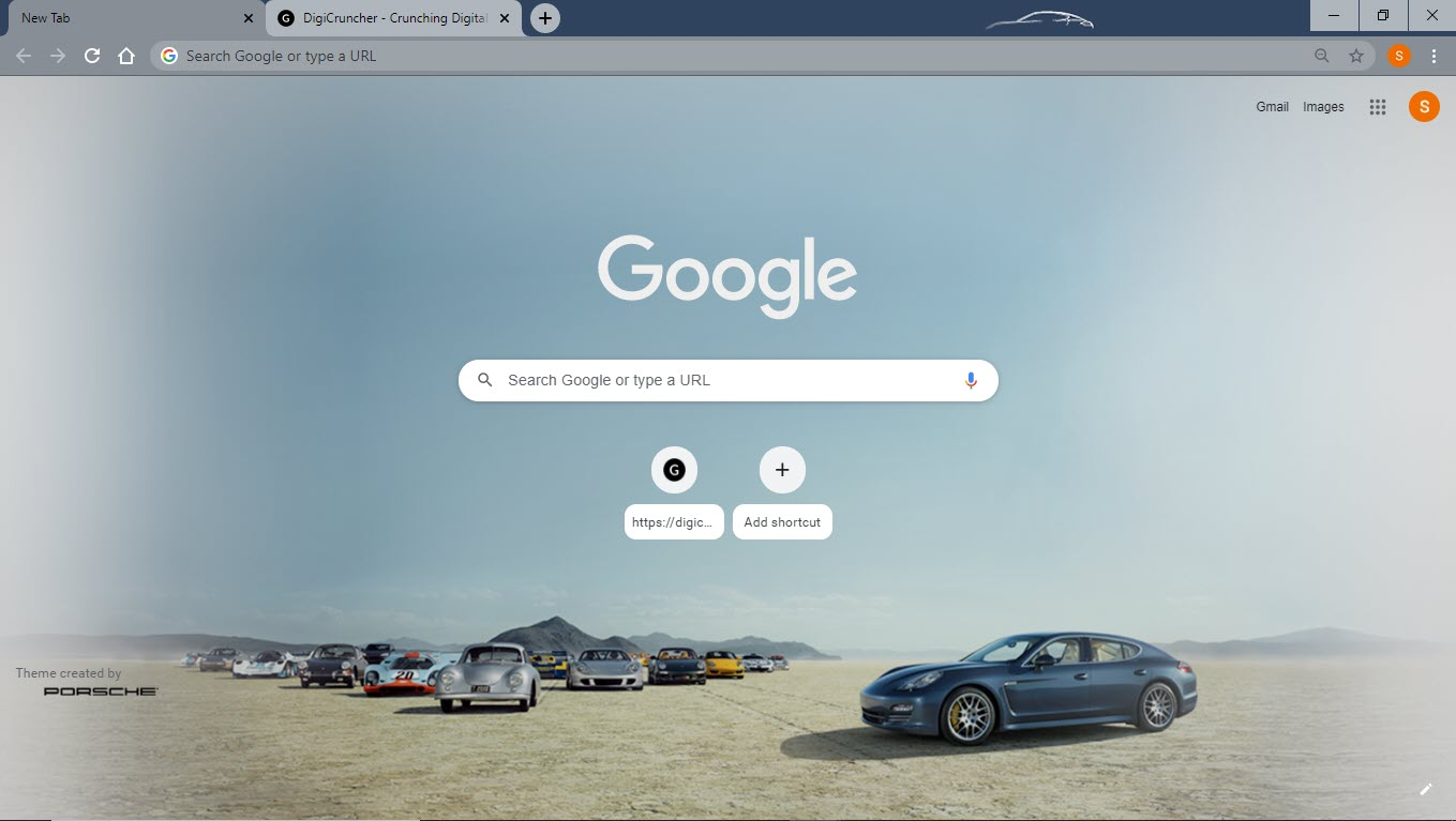 Porsche_google_chrome_theme