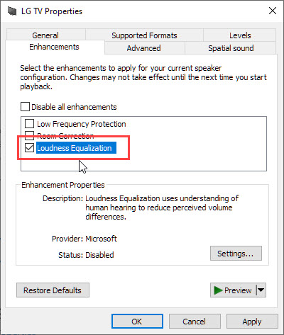 enable_loudness_equalization