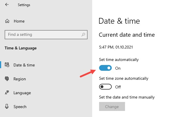 set_time_automatically_from_windows_settings