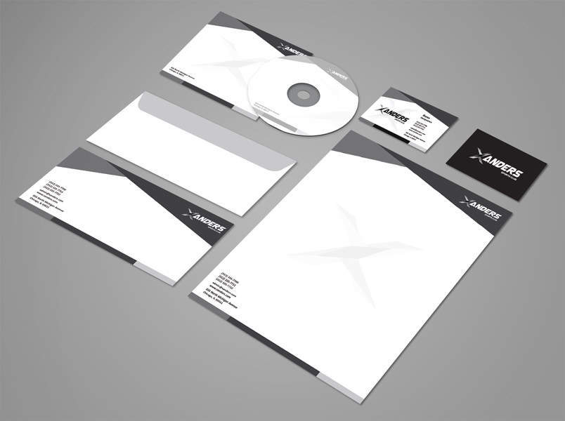 Stationery Design Digics 9