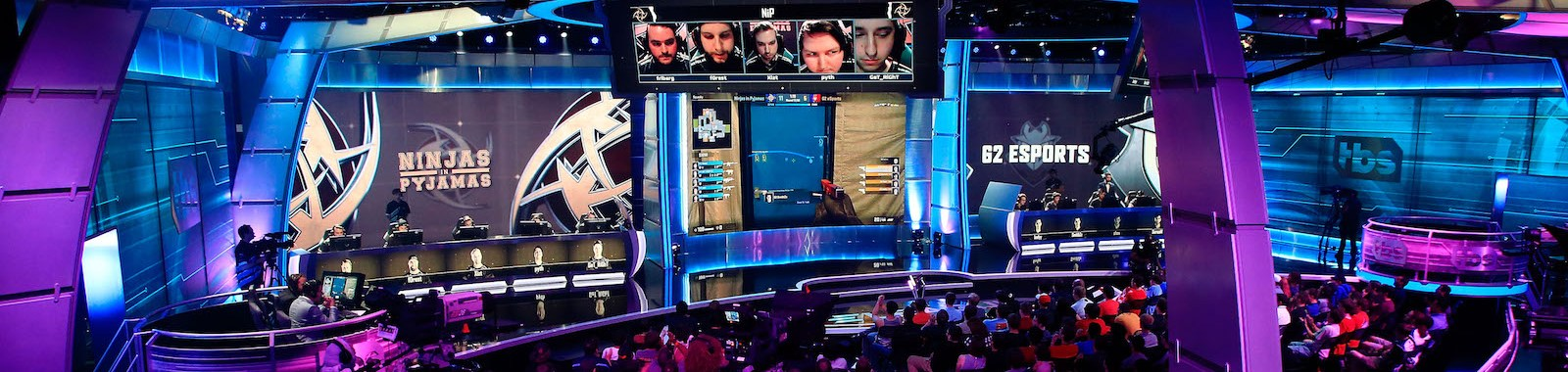 ATLANTA, GA - JUNE 03: A general view of action between Ninjas in Pyjamas and G2 Esports at the ELeague Arena at Turner Studios on June 3, 2016 in Atlanta, Georgia. (Photo by Daniel Shirey/Getty Images)