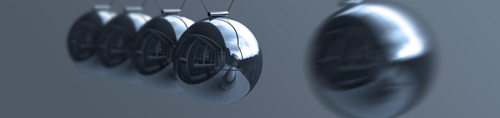 Pendulum concept I (Action - Reaction).