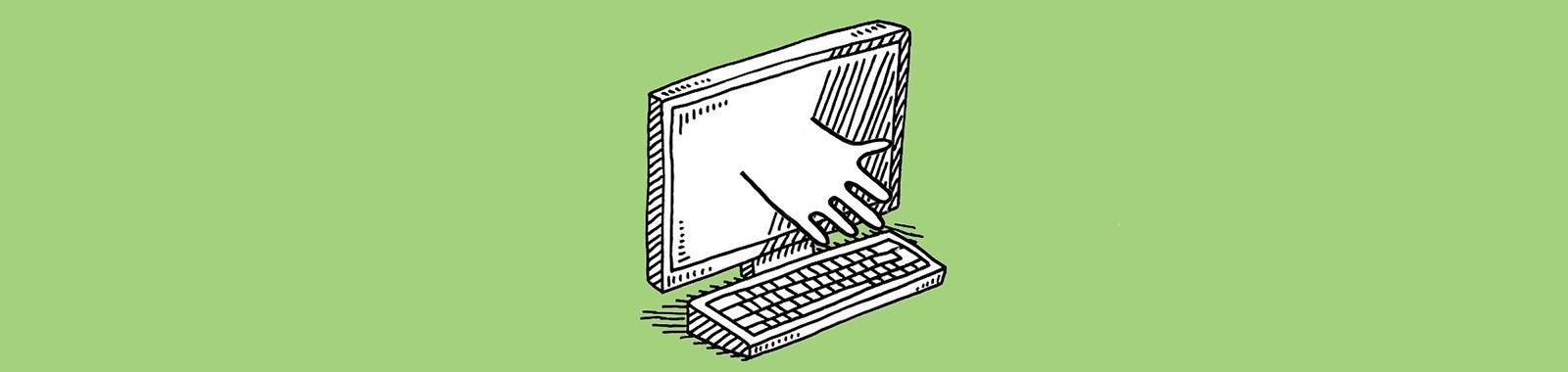 hand-computer-mainer-eye