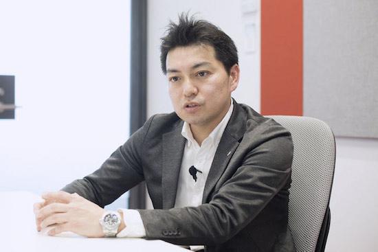 ネスレ日本の村岡慎太郎氏