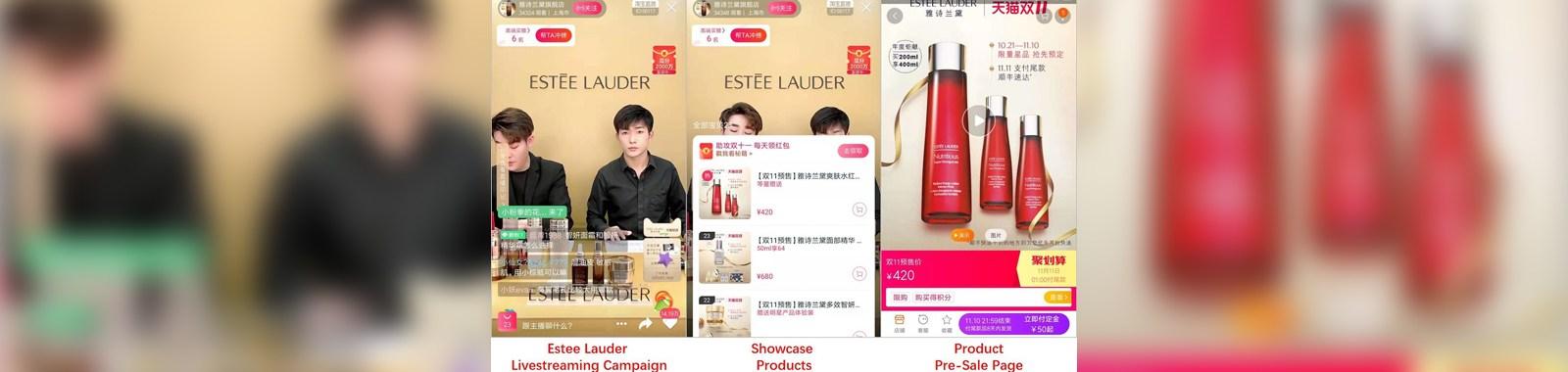 Taobao-ESTEE-LAUDER-Livestreaming-singles-day-2019-eye