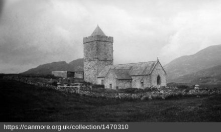 Historic photograph c. 1923 of St Clement's church from the SE. Source: RCAHMS.