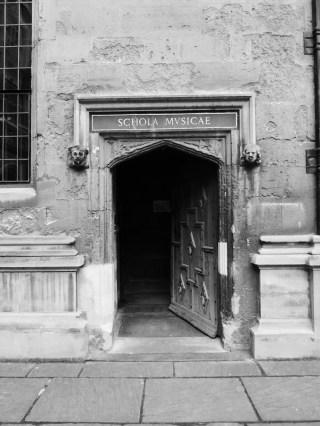 Doorway, Bodleian Library.
