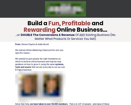 Online Marketing Learn room – Up To $748/sale!