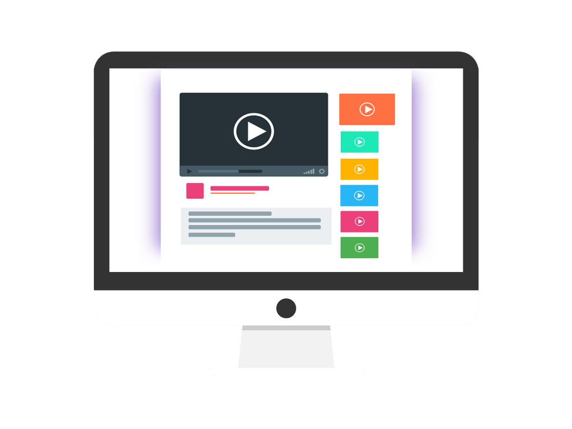 Videos Page Layout