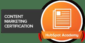 HubSpot Academy Content Marketing Cert