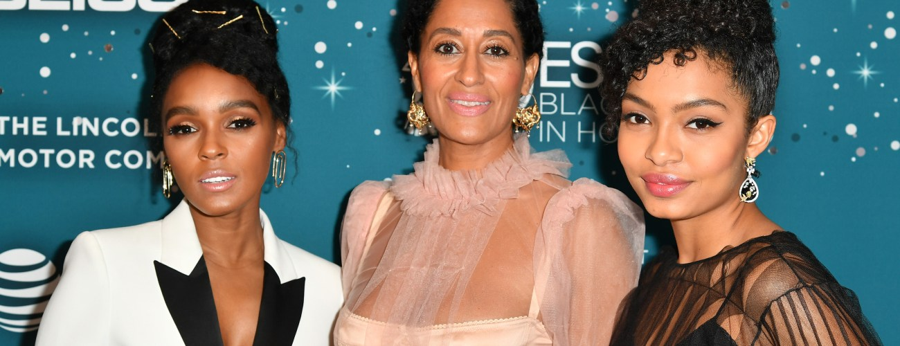 Janelle Monáe, Issa Rae, Aja Naomi King and Yara Shahidi honored at The 2017 ESSENCE Black Women In Hollywood Awards & Gala