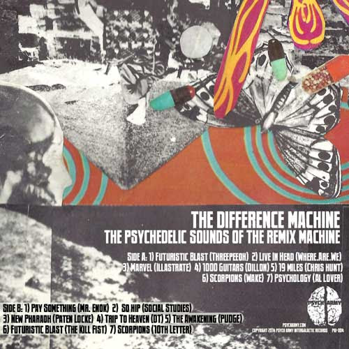 The Difference Machine – The Psychedelic Sounds Of The Difference Machine