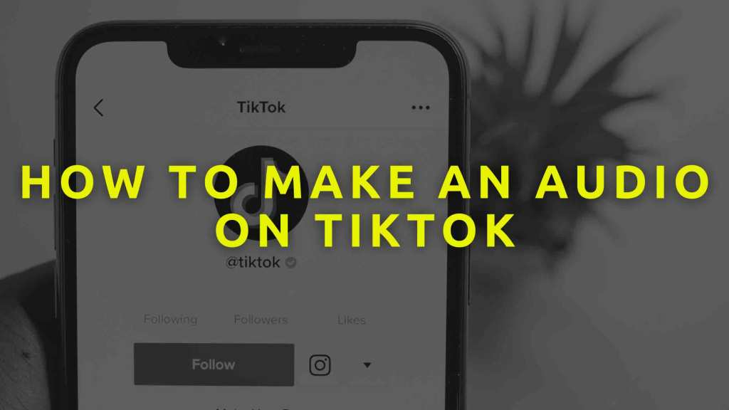 How-to-make-an-Audio-on-TikTok-in-2021