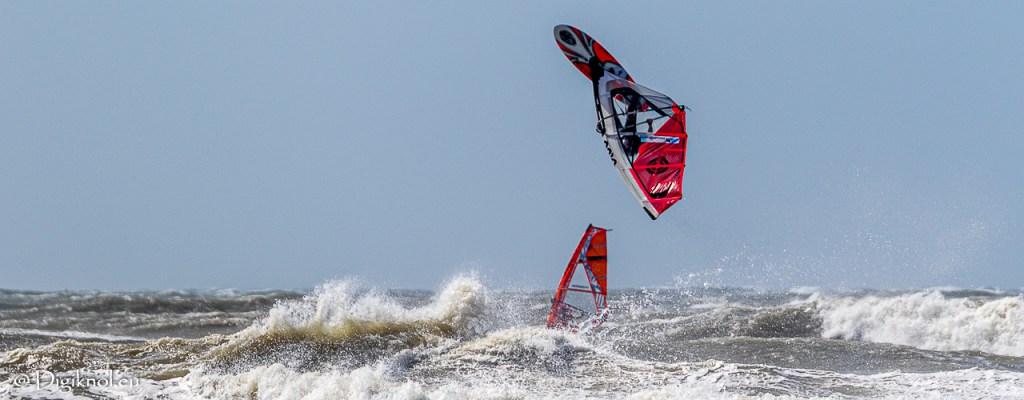 Uitwaaien & Surfers kieken in Scheveningen
