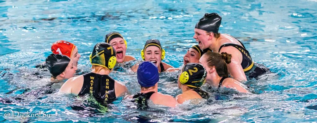 Dames 1 van Waterpolo Den Haag bereikt finale ManMeer! Cup