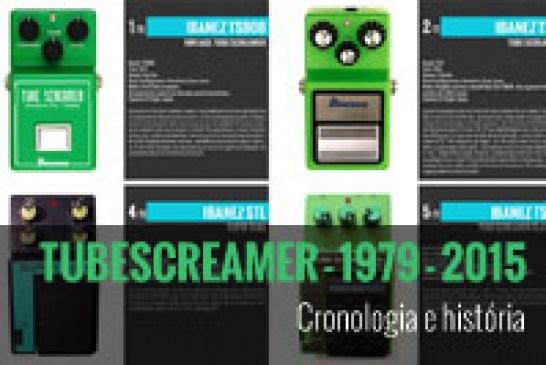 Ibanez Tube Screamer – Modelos de 1979 a 2015