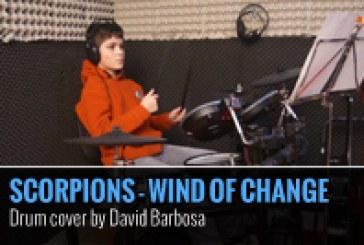 SCORPIONS – WIND OF CHANGE – COVER POR DAVID BARBOSA