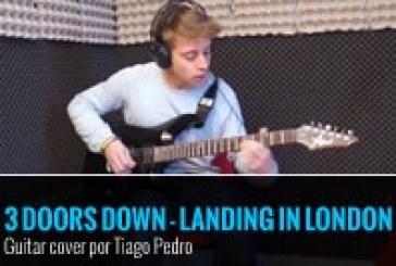 3 DOORS DOWN – LANDING IN LONDON – COVER POR TIAGO PEDRO