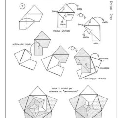 Cool Modular Origami Diagram 2003 Pontiac Grand Am Wiring Free Diagrams Instructing You How To Fold Unit Models 3