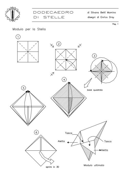 origami magic ball diagram modular origami diagrams