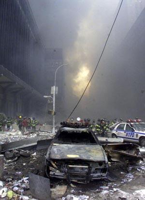 le distruzioni che avverranno potrebbero ricordare quelle dell'11 settembre
