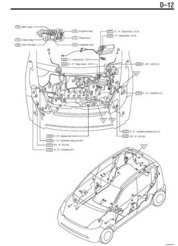 Daihatsu sirion m300 2004/2015 workshop manual workshop