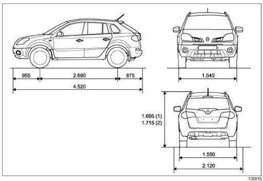 Renault koleos 2008/2016 workshop manual Workshop Manual