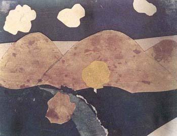 Disegno di Lenka Lindtovà, nata il 19-3-1930 e morta il 28-10-1944 ad Auschwitz
