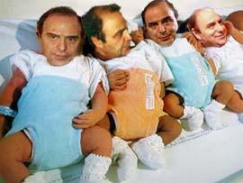 Il nipote segreto di Mussolini, ieri erridentista, oggi lecchino, ma da sempre nella lista!!