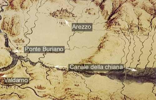 Il paesaggio aretino negli studi di Leonardo